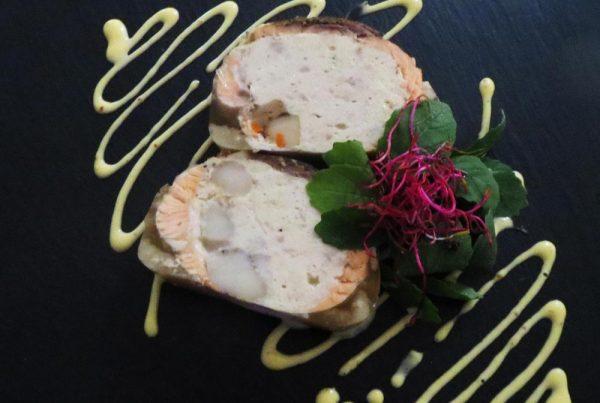 Ballottine de saumon, traiteur à Bordeaux