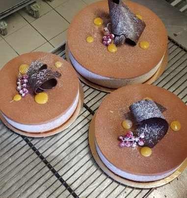 Royal chocolat caramel, traiteur à Bordeaux